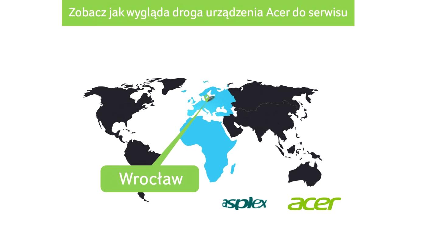 Acer serwis naprawa gwarancja