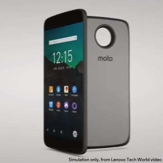 Motorola Lenovo Moto Z One Lenovo UI
