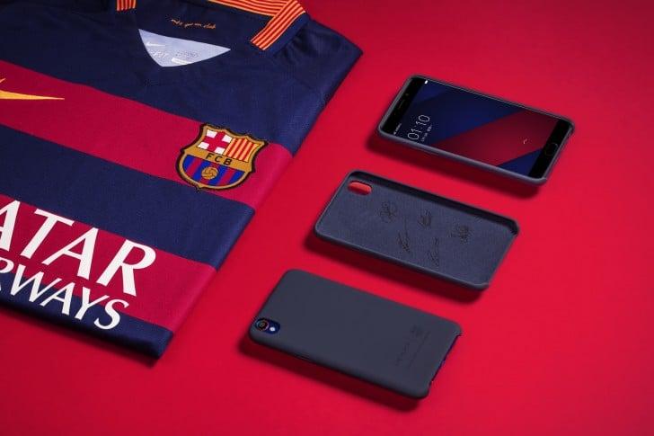 Oppo F1 Plus FC Barcelona etui case