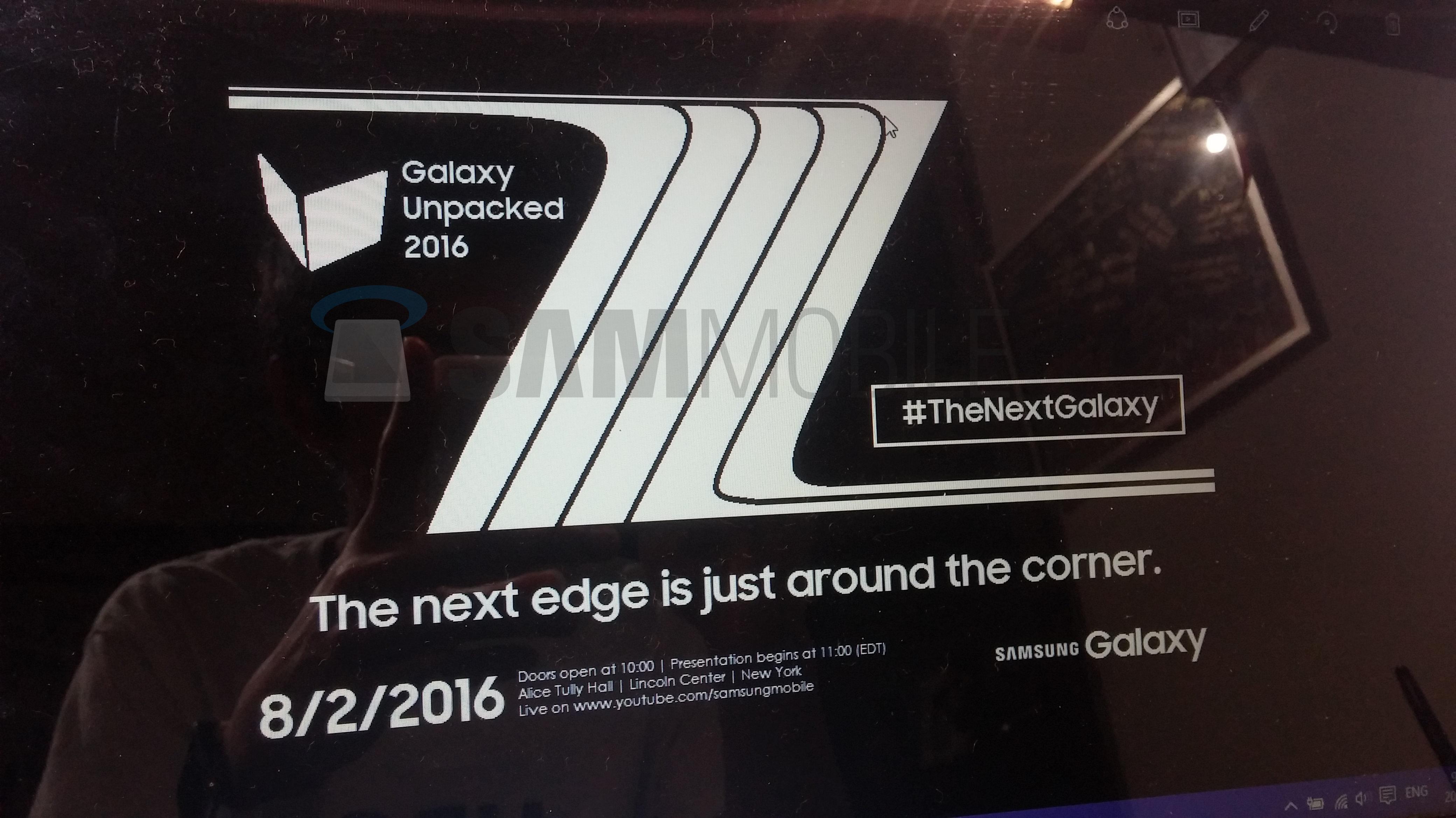 Tabletowo.pl Premiera nowego Galaxy Note 7 odbędzie się na początku sierpnia? Android Krótko Plotki / Przecieki Samsung Smartfony
