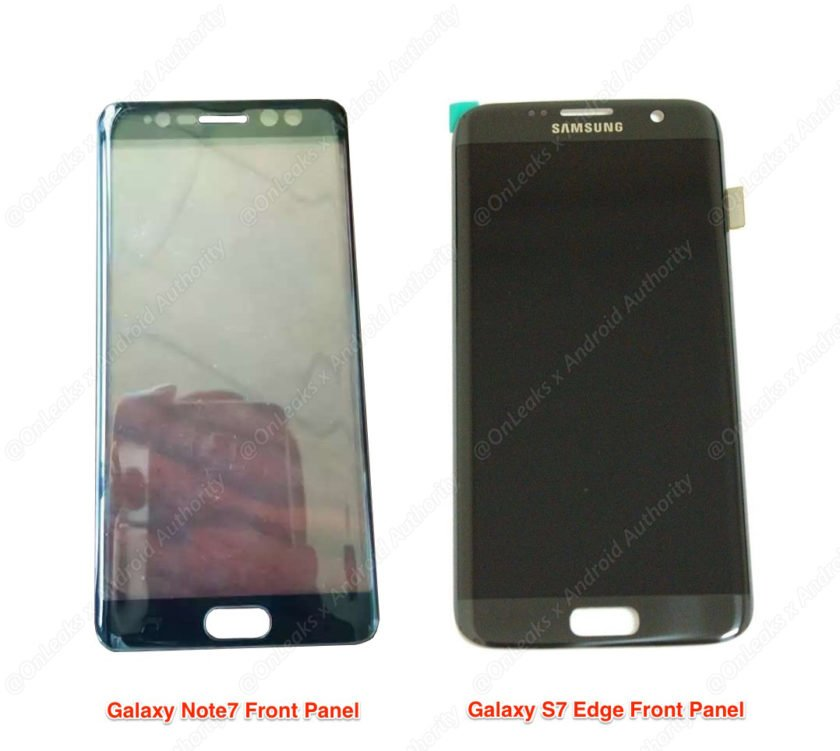 Samsung Galaxy Note 7 Samsung Galaxy S7 Edge