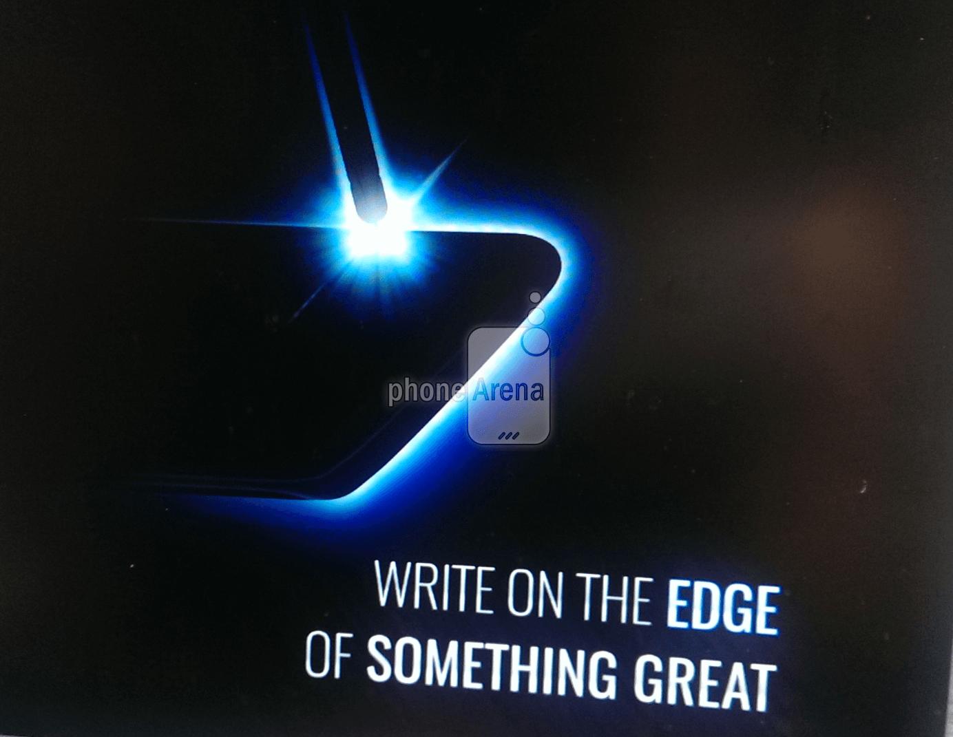 Samsung Galaxy Note 7 edge S Pen