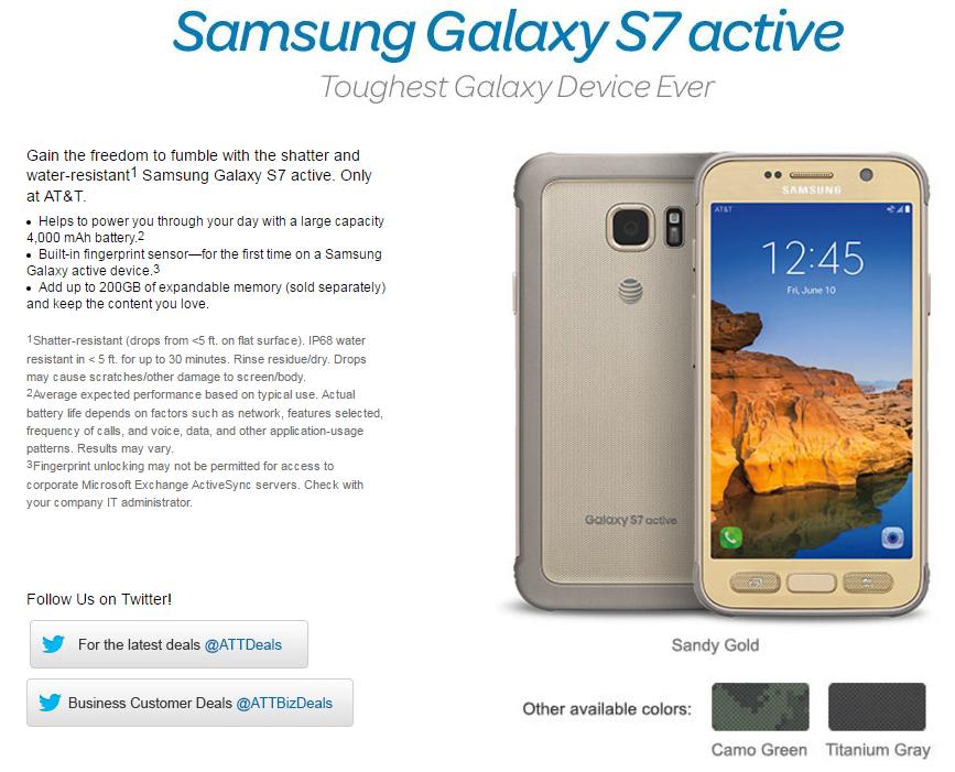Tabletowo.pl Najsolidniejszy ze wszystkich Galaxy, czyli Galaxy S7 Active, zadebiutuje w sprzedaży 10 czerwca Android Samsung Smartfony