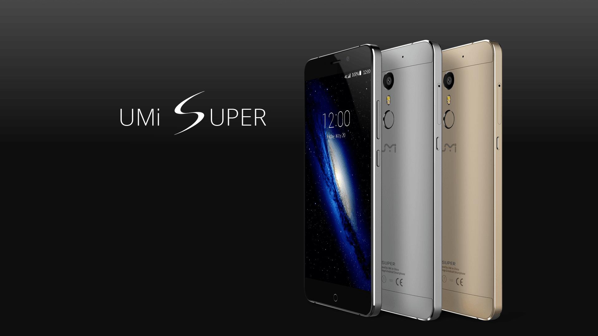 Tabletowo.pl Kolejne smartfony z Chin debiutują w Polsce - tym razem UMi Super i UMi Touch X Android Chińskie Smartfony