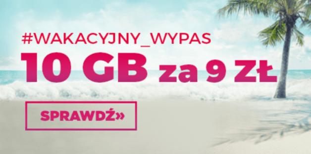 Virgin Mobile 10 GB za 9 zł