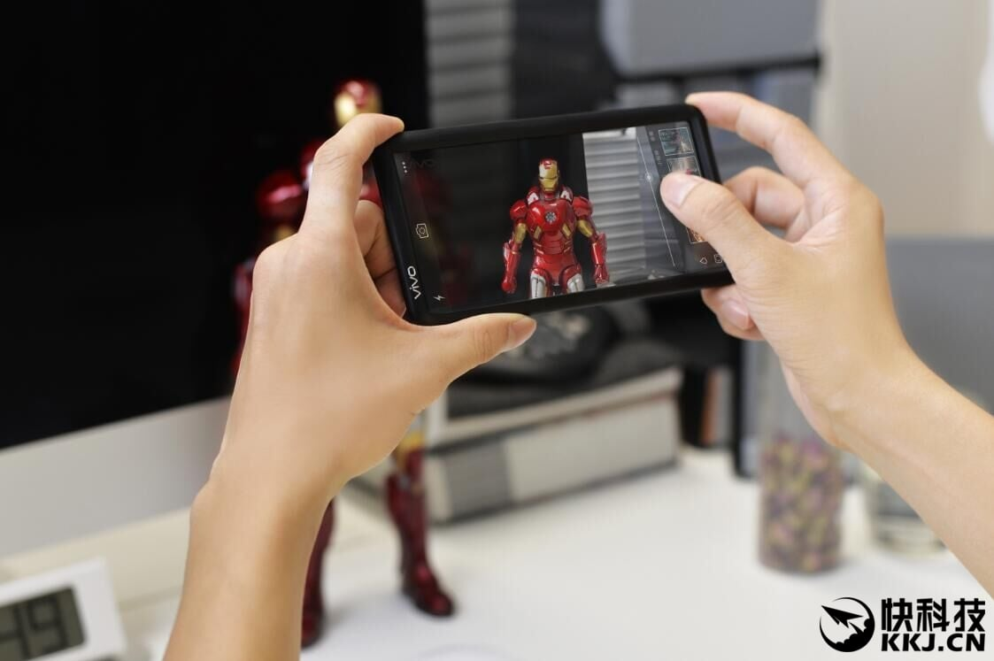 Vivo smartfon przezroczysty ekran