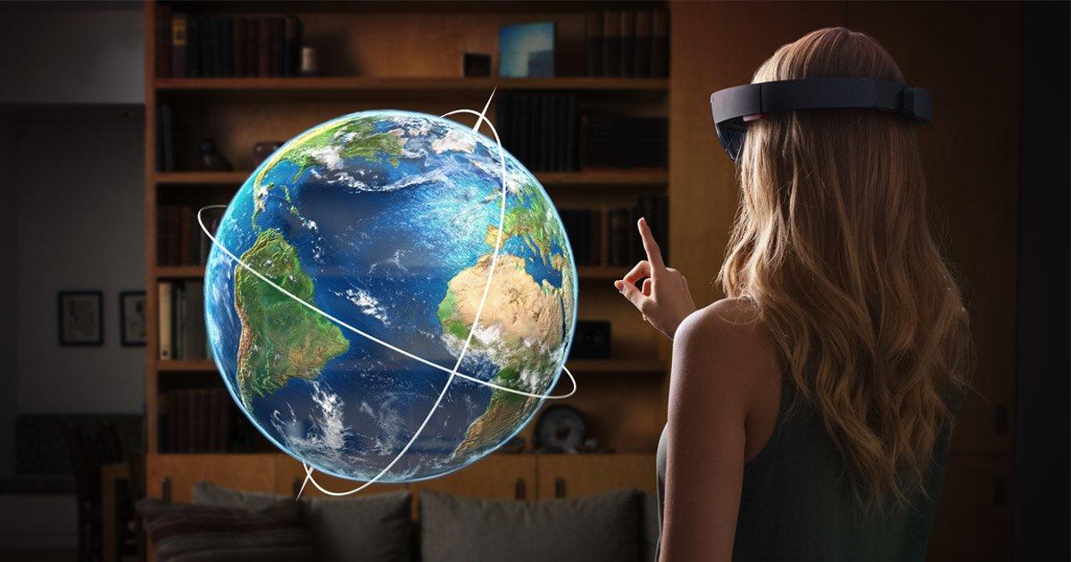Tabletowo.pl Microsoft ma genialny plan na podbicie rynku VR Ciekawostki Koncepcje Microsoft Oprogramowanie Rozszerzona rzeczywistość Windows Wirtualna rzeczywistość