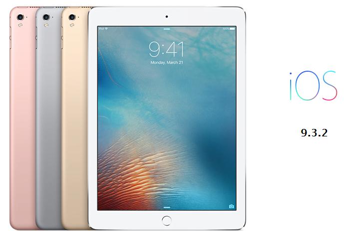 Apple robi drugie podejście i ponownie udostępnia iOS 9.3.2 dla 9,7-calowych iPadów Pro 20