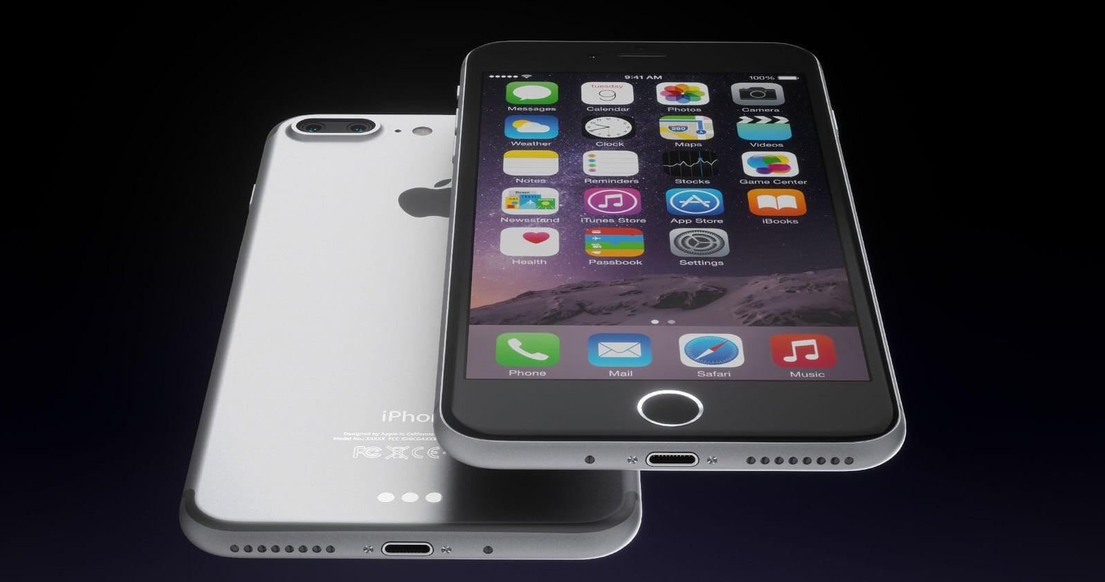 """Tak może wyglądać tegoroczny iPhone w wersji """"Plus"""". Autor: Martin Hajek"""