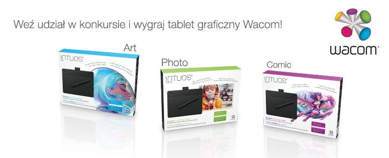 Konkurs: wygraj tablet graficzny Wacom Intuos! 18