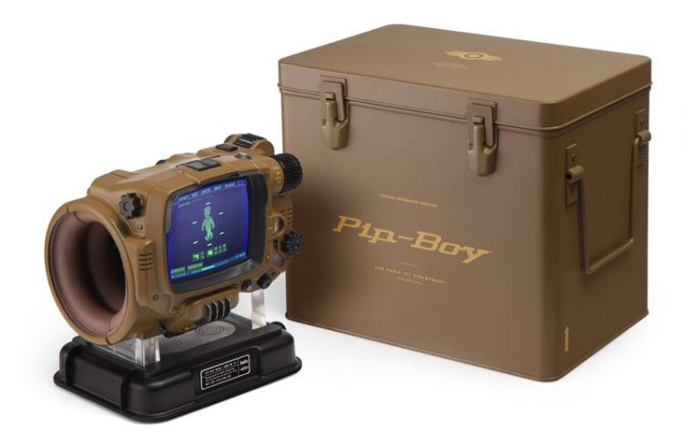 Pip-Boy Deluxe Bluetooth Edition - smartwatch dla fanów Fallouta 23