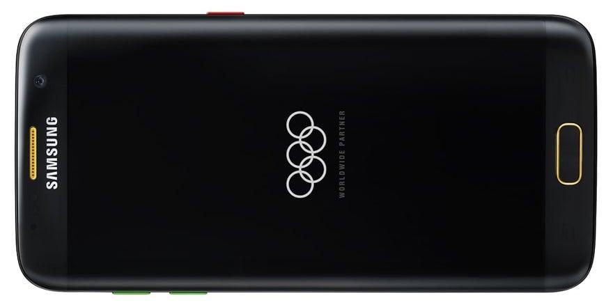 Tabletowo.pl Olimpijski Galaxy S7 edge na renderach Krótko Plotki / Przecieki Samsung Smartfony