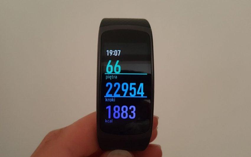Recenzja Samsung Gear Fit 2. Opaski, która pomoże Ci być fit 39