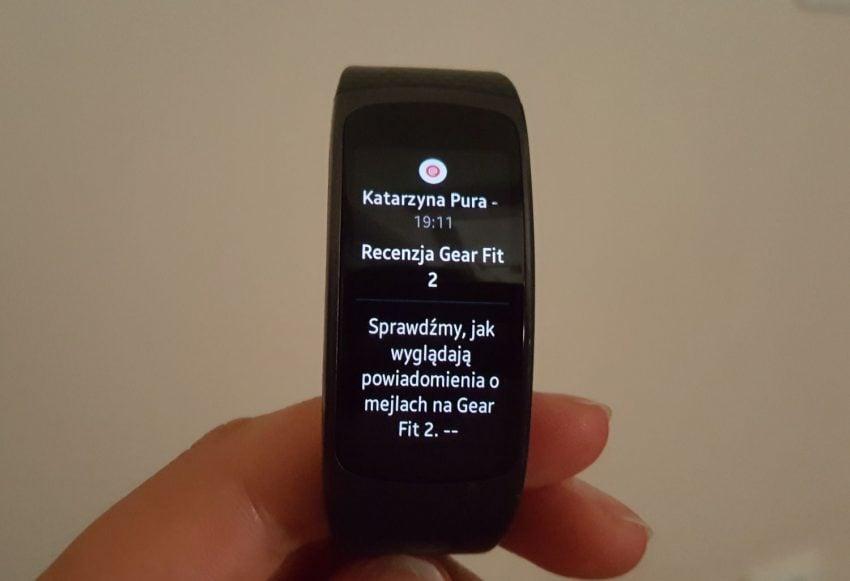 Recenzja Samsung Gear Fit 2. Opaski, która pomoże Ci być fit 18