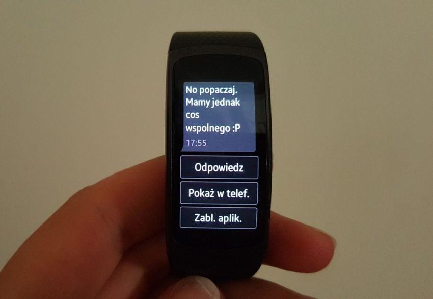 Recenzja Samsung Gear Fit 2. Opaski, która pomoże Ci być fit 21