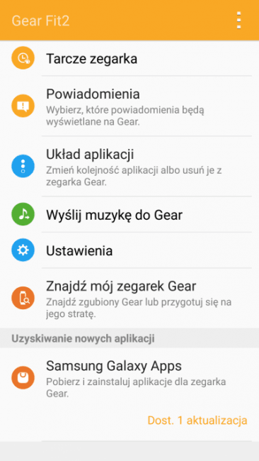 Recenzja Samsung Gear Fit 2. Opaski, która pomoże Ci być fit 20