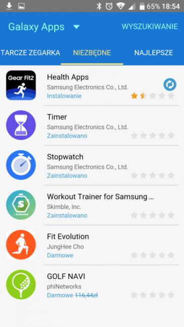 Recenzja Samsung Gear Fit 2. Opaski, która pomoże Ci być fit 38