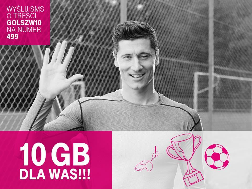 Polska awansowała do 1/4 EURO 2016, a Orange (18GB) i T-Mobile (10GB) rozdają darmowe pakiety 28