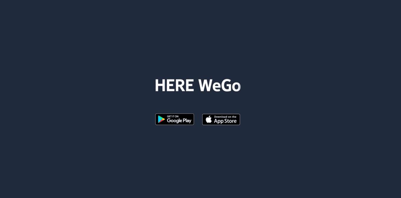 Od dziś nie ma już HERE Maps. Aplikacja zmieniła nazwę na HERE WeGo 21