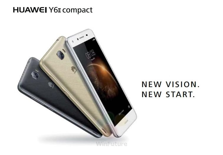 Nie do końca kompaktowy Huawei Y6 II Compact będzie kosztował w Europie 169,99 euro 19