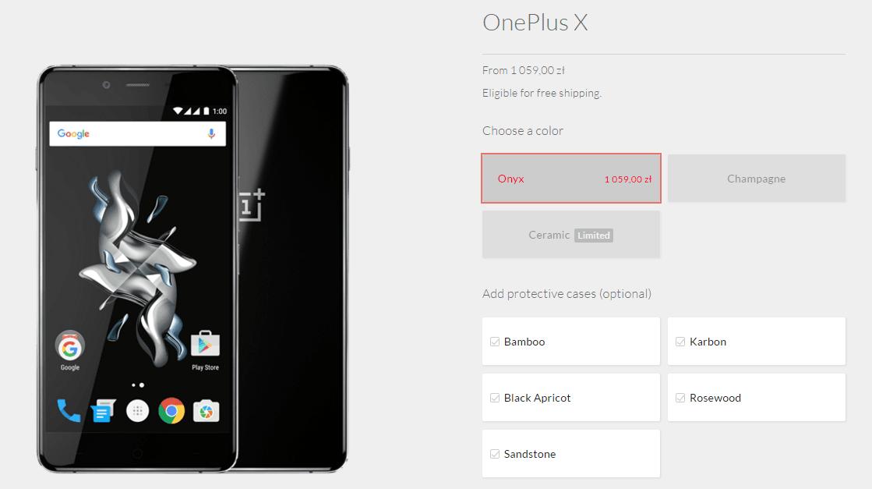 Od teraz możesz mieć problem z kupnem OnePlus X 25
