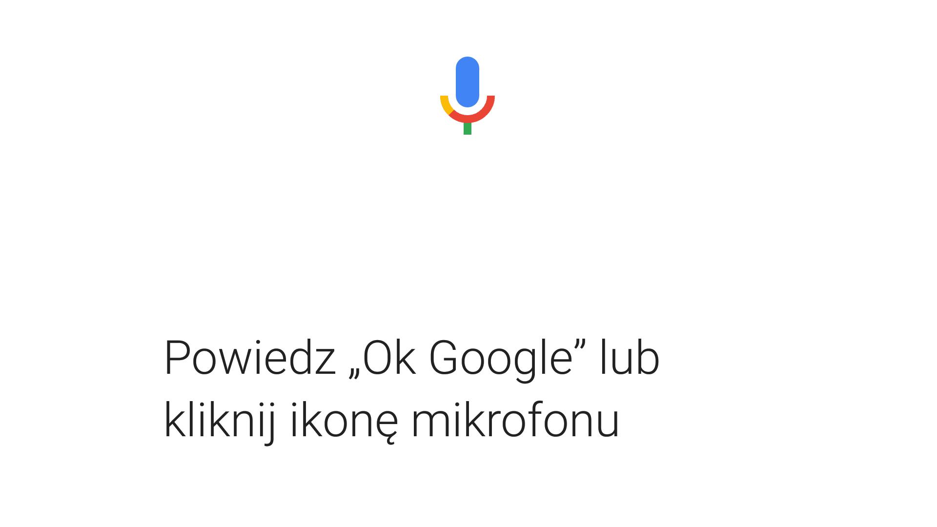 Wszystkie komendy Google Now dostępne w jednym miejscu