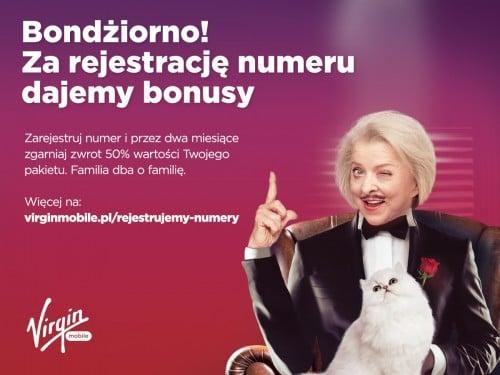 Virgin Mobile rejestracja numeru karty SIM