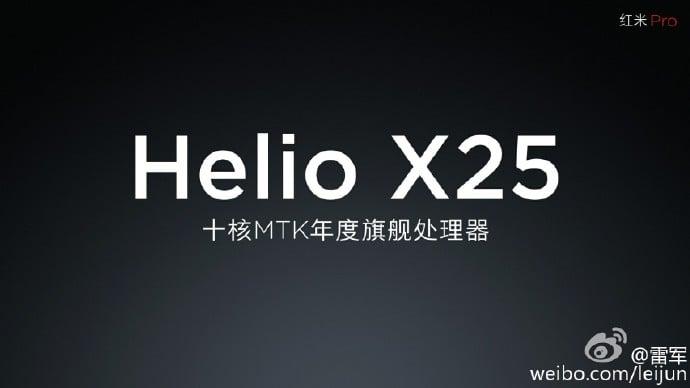 CEO Xiaomi potwierdza, że Redmi Pro zostanie wyposażony w Helio X25 i podwójny aparat główny 22