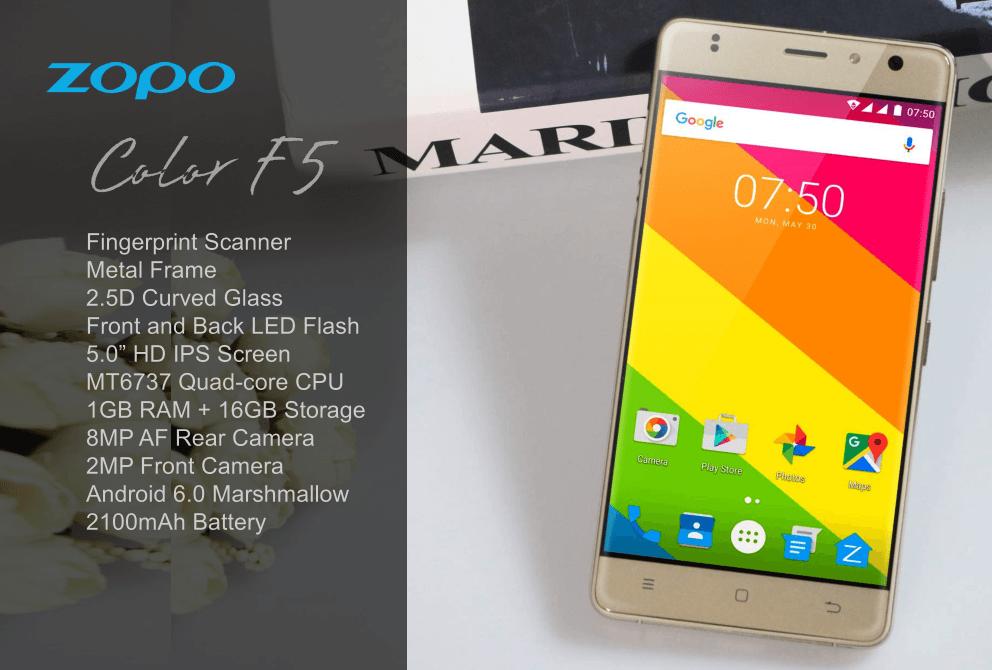 Tabletowo.pl Poznajcie kolejne dwie nowości ZOPO - Color C3 i Color F5 Android Chińskie Smartfony