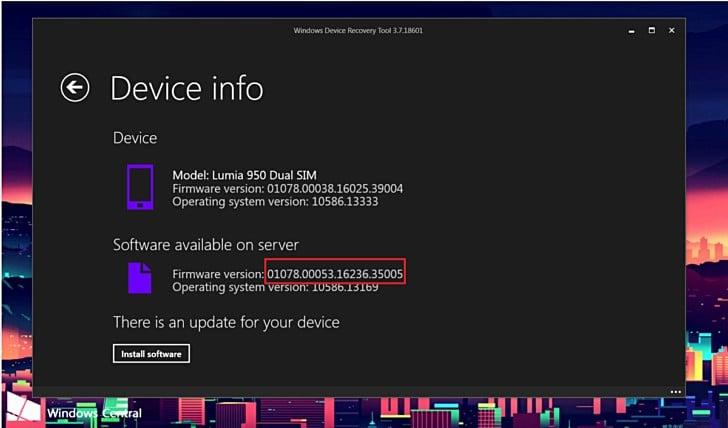 Aktualizacja dla Lumii 950 dual SIM, a w niej wybudzanie ekranu podwójnym tapnięciem 29