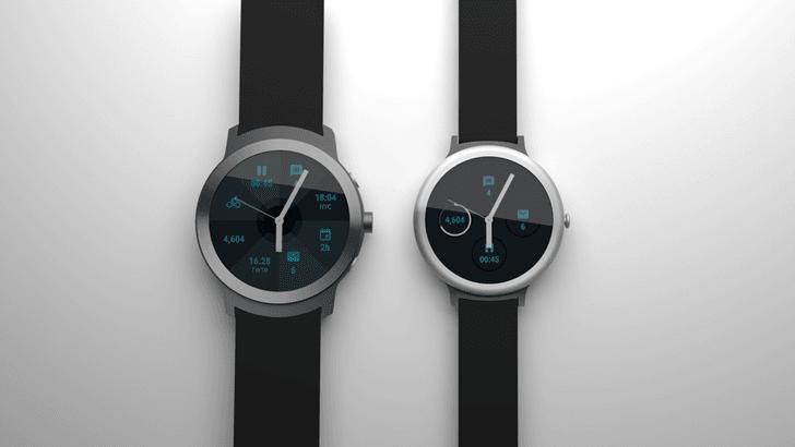 Tabletowo.pl Tak będą wyglądać nowe zegarki Google? Google Nowości Plotki / Przecieki Wearable