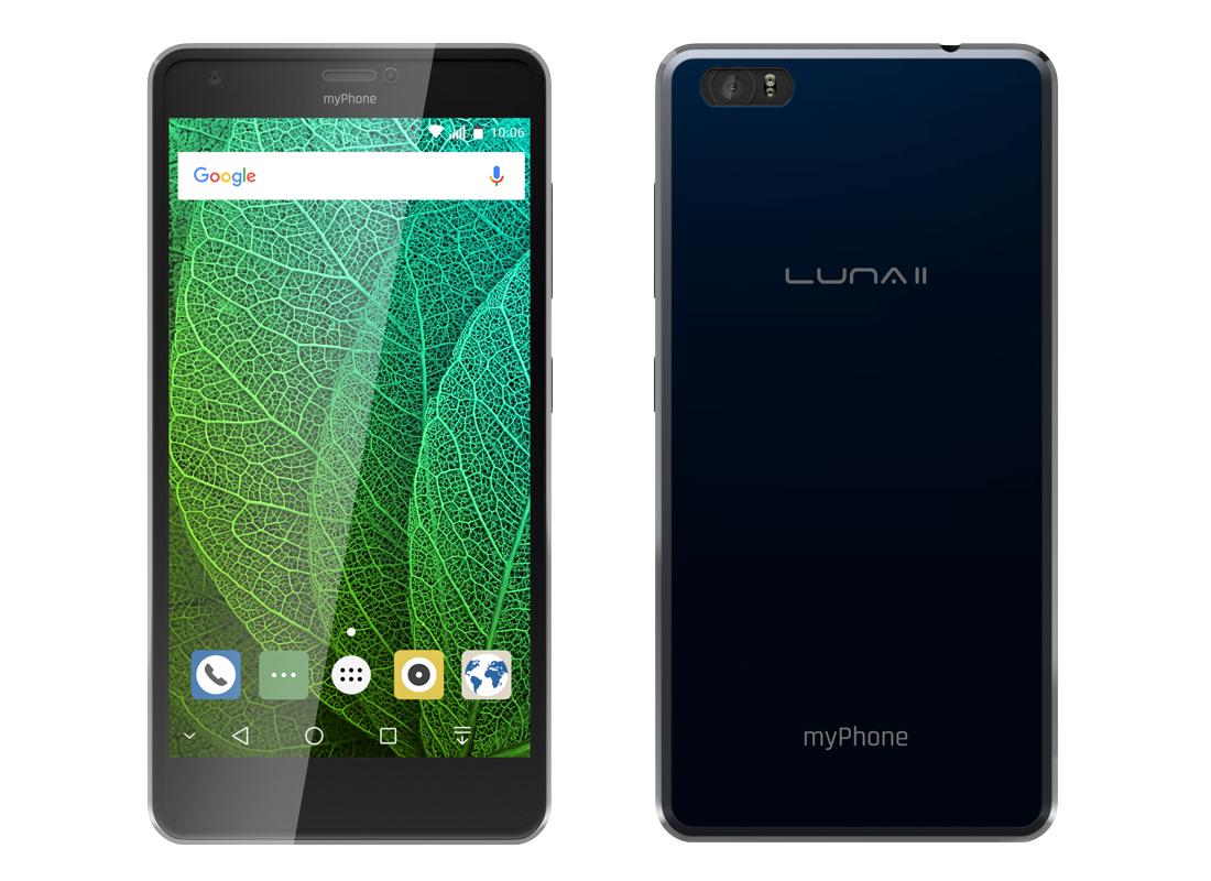 Genialny myPhone Luna II z wieloma usprawnieniami względem poprzednika AF86