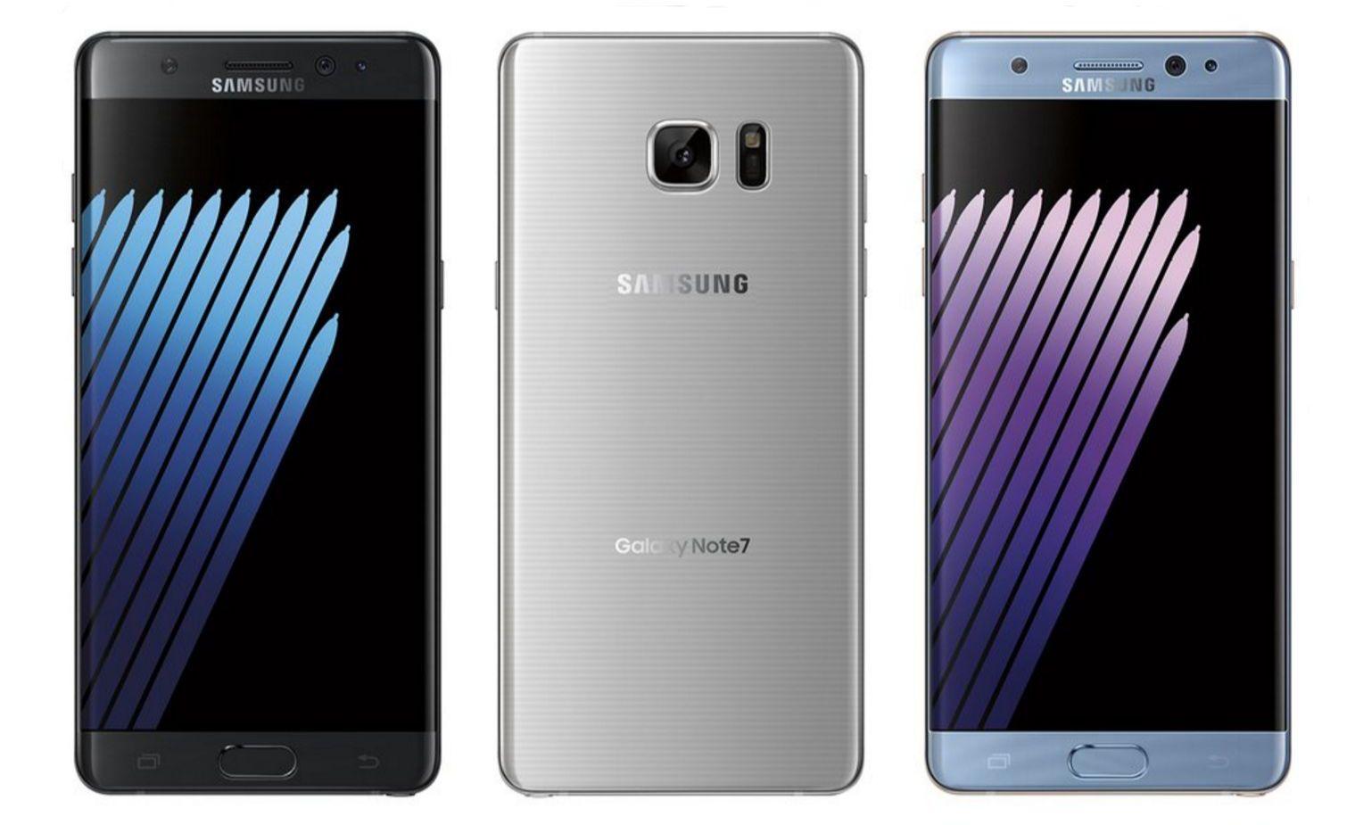 Tak najprawdopodobniej będzie wyglądał Samsung Galaxy Note 7 w różnych kolorach 24
