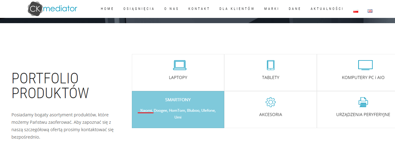 CK Mediator Xiaomi