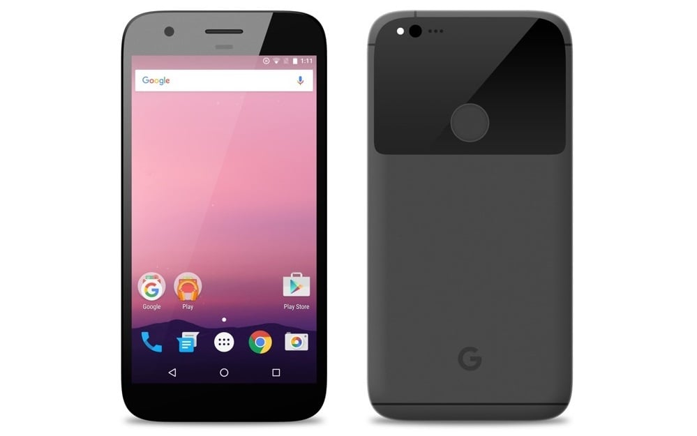 HTC Nexus 2016 Sailfish Nexus 5P grey gray szary