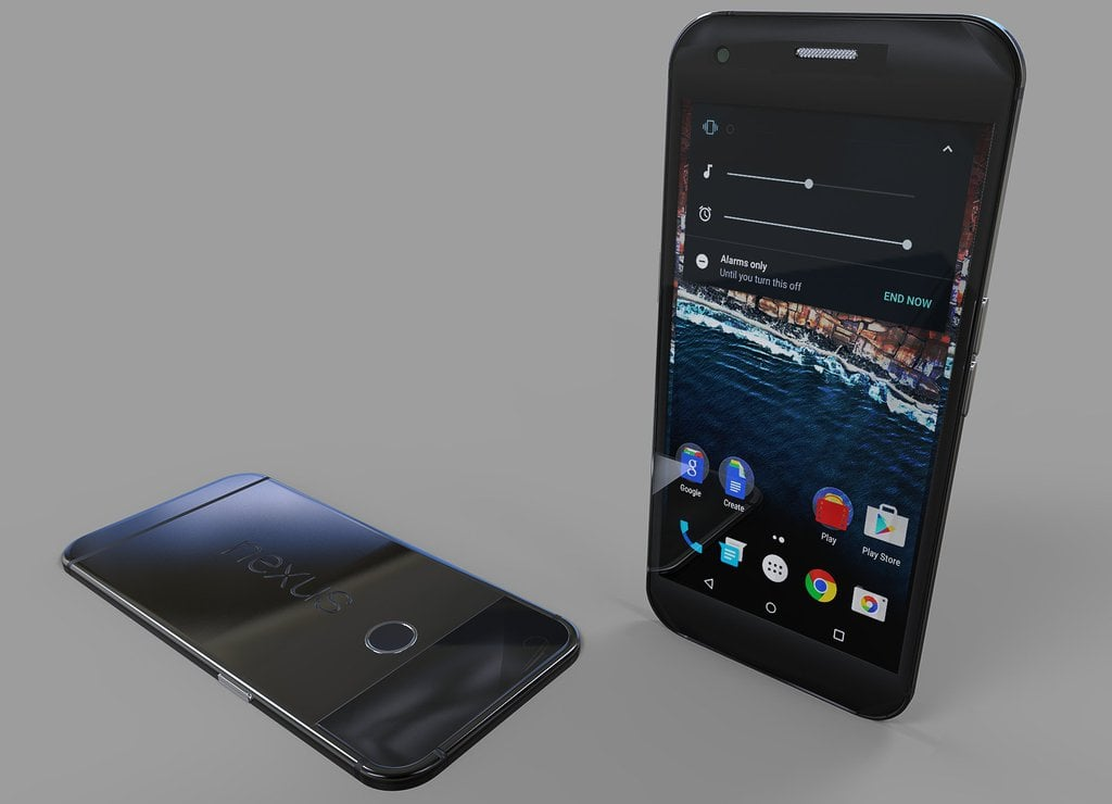 HTC Nexus Sailfish Marlin render