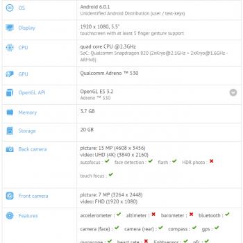 """Tabletowo.pl LeEco Le 2s będzie miał Snapdragona 820 i """"tylko"""" 4GB RAM Android Chińskie Plotki / Przecieki Smartfony"""