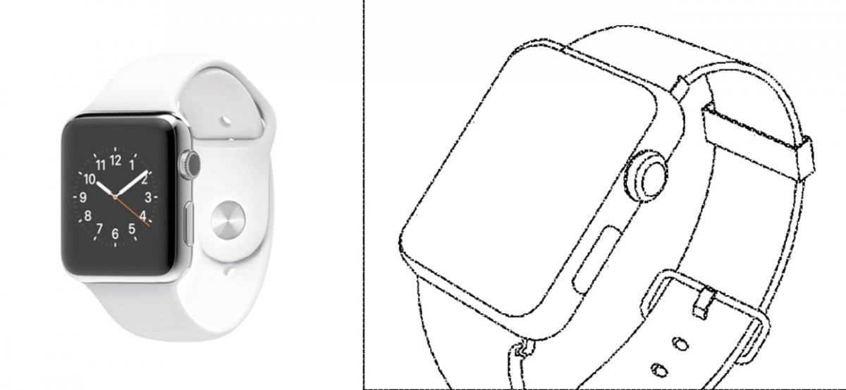 Samsung Apple Watch patent patenty 3
