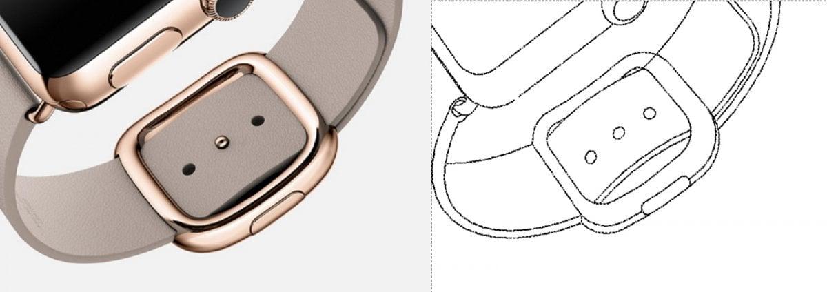 Samsung Apple Watch patent patenty