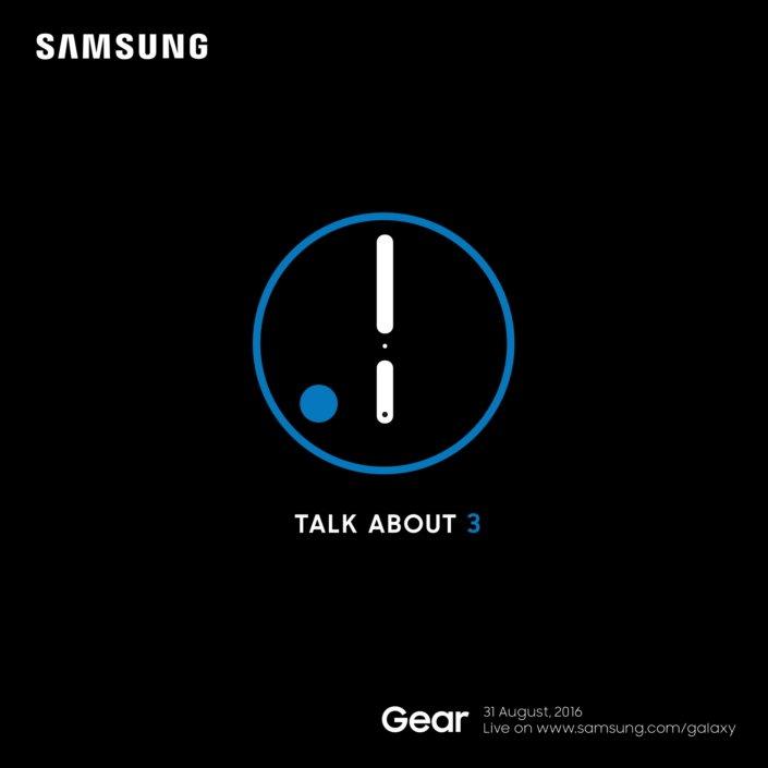 Gear S3 zadebiutuje 31 sierpnia 16