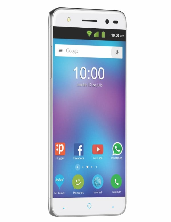 zte v6 plus actualizacion and included with