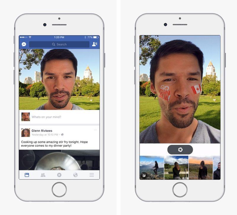 Tabletowo.pl Facebook robi własnego Snapchata Aplikacje Ciekawostki Nowości Social Media