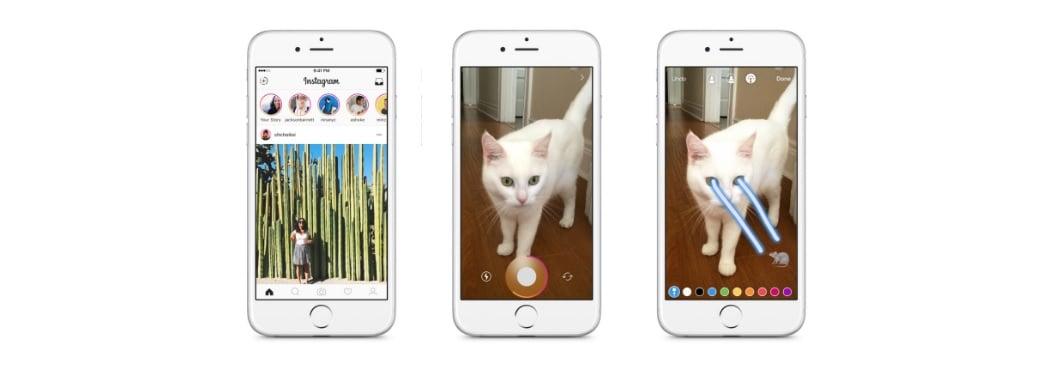 Instagram bardziej jak Snapchat - dzięki Stories 17