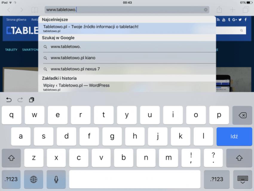 """Tabletowo.pl Recenzja iPada Pro 9,7"""" Apple iOS Nowości Recenzje Tablety"""
