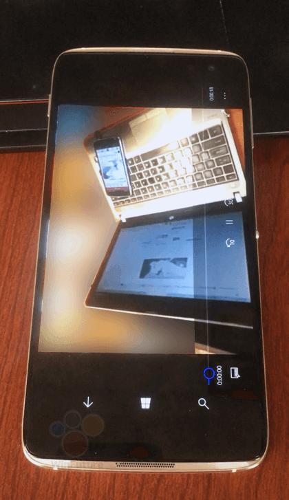Idol 4 Pro, flagowiec Alcatela z Windows 10 Mobile, na zdjęciach 20