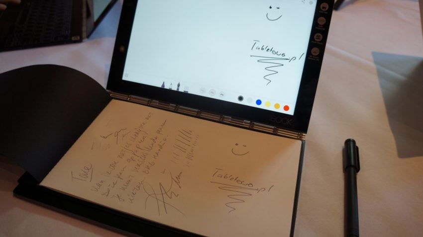 Tabletowo.pl Lenovo Yoga Book, czyli innowacyjna hybryda oficjalnie zaprezentowana Hybrydy IFA 2016 Lenovo