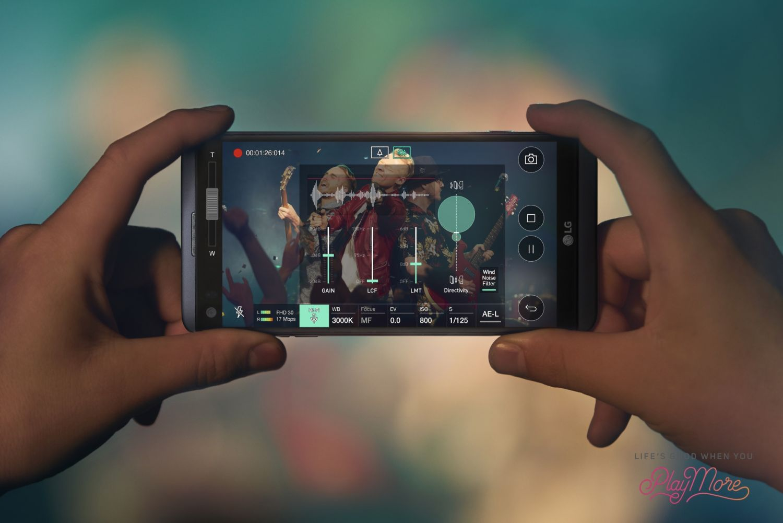 LG V20 miewa problemy - pęka szkiełko ochronne aparatu 29