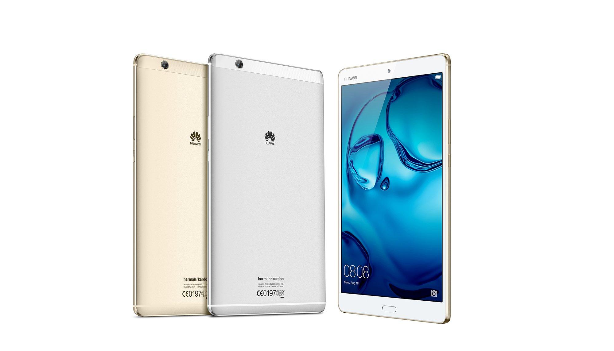 Huawei MediaPad M3 - tablet dla melomanów. Z głośnikami Harman Kardon i słuchawkami AKG 21