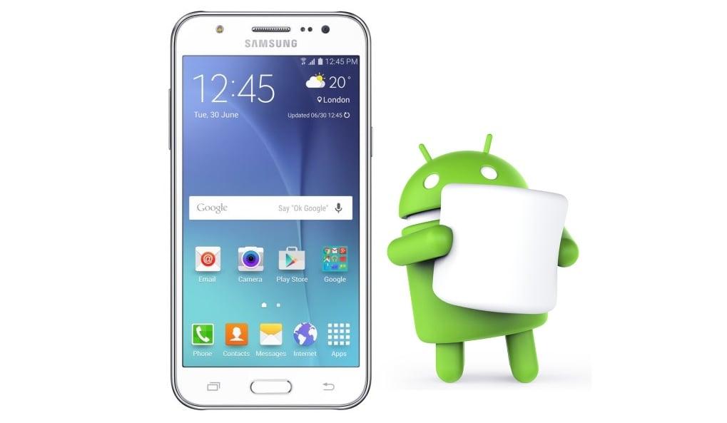 Samsung Galaxy J5 Android 6.0.1 Marshmallow