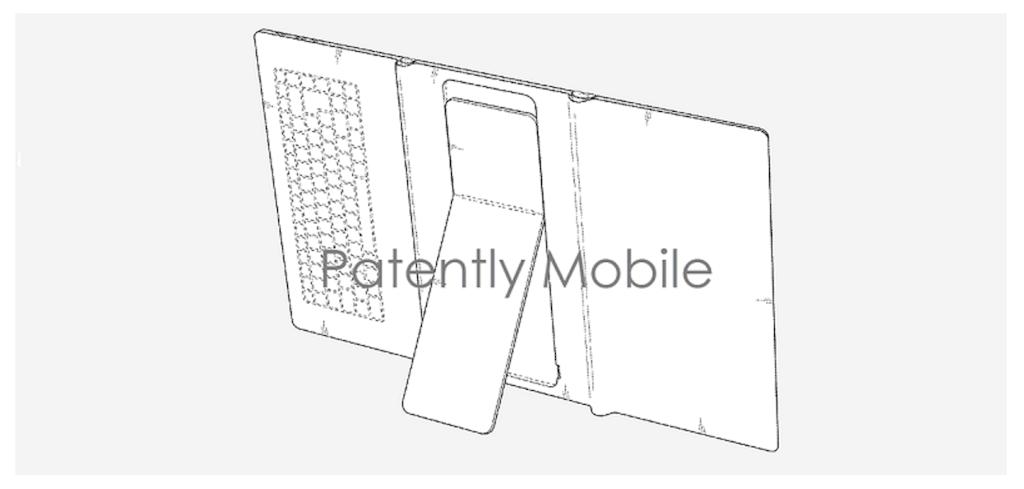 samsung-patent-skladalny-tablet-z-klawiatura-i-nozka